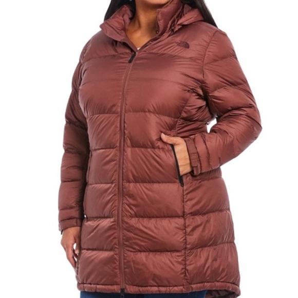 NWT The North Face Marron Metropolis Puffer Jacket
